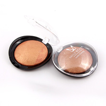 MISS ROSE 1PC Women Bronze Blush Beauty Palette Face Makeup Baked Powder , Blusher Professional Maquiagem A14(China)