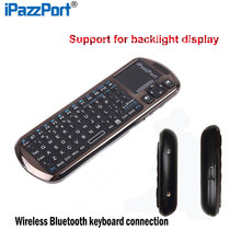 Portable Wireless Mini Bluetooth Keyboard Luminous Mode With Touchpad Air Mouse Support Multi-language For  Android PC OS Window