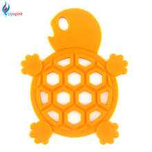 2Pcs Silicone Coaster Dining Table Placemats Coffee Drinks Cups Mat Cartoon Tortoise Shape Drink Pads Kitchen Accessories(China)