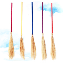Harry Potter magic broom dance parties performances magician props Halloween witches broom broomstick dress length about 100CM(China)