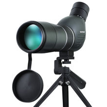 Suncore Spirit 15-45X60A / 15-45X60S Spotting Scope bird-watching monocular telescope with Professional ultra compact tripod(China)