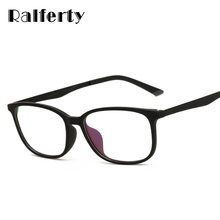 Ralferty Ultra Light TR90 Computer Glasses Frame Eyeglass Men Women Optical Frames Degree Myopia Glasses Clear Black Oculos 1655(China)