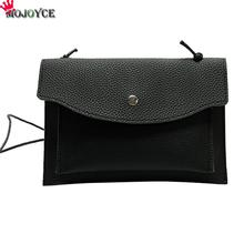 Crossbody Leather Mango Purses Handbags Envelope Clutc Black Handbags Women Handbags 2017 Luxury Designer(China)