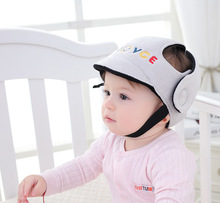 Baby Protective Helmet Boy Girls Anti-collision Safety Helmet Infant Toddler security & Protection Soft Hat for Walking Kids cap(China)