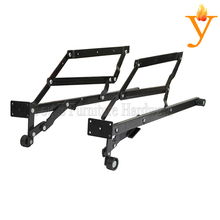 Most popular black Sofa bed functional hinge and Split drawer hinge D12(China)