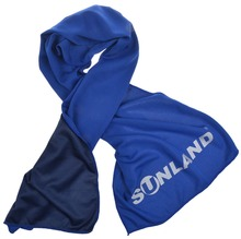 Sunland Soft Breathable Cold Towel New Ice Fabric Gym Towel Cooling Towel 30x100cm(China)