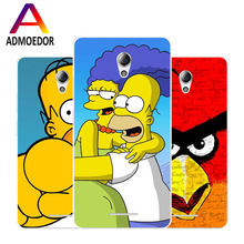 lenovo a5000 Case,Silicon Popular Cartoon Painting Soft TPU Back Cover for lenovo a5000 Phone protect Bags shell(China)