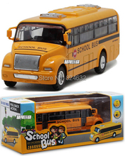 1:32 scale models america school bus diecast cars toys for children kids toys brinquedos meninoss juguetes 1pcs(China)