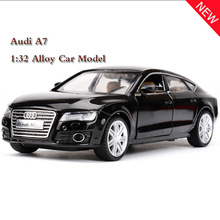 J&CLIFE New 1:32 Toy Car Audi A7 Metal Alloy Diecast Car Model Diecasts & Toy Vehicles Model Car Toys For Children