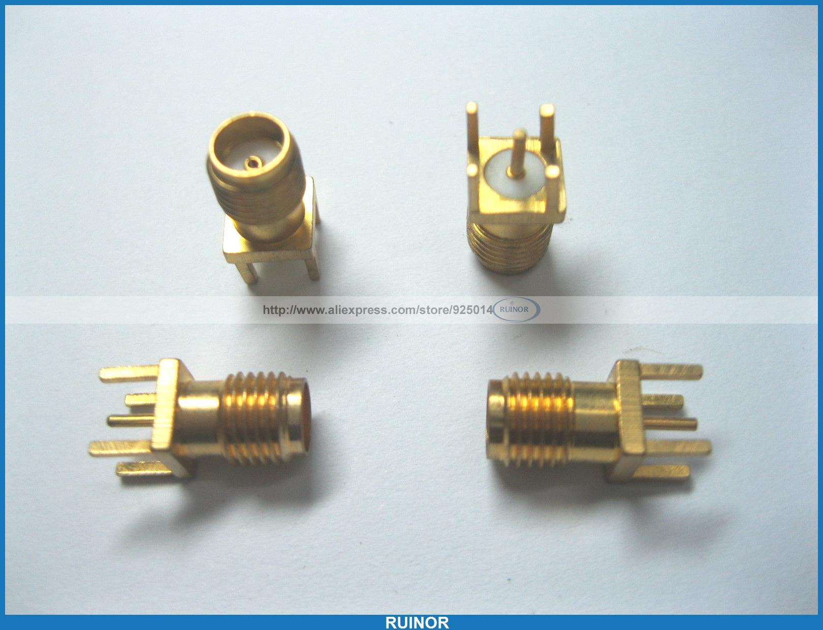 20 Pcs SMA RF Female Board Mount Coaxial Connector SS<br>