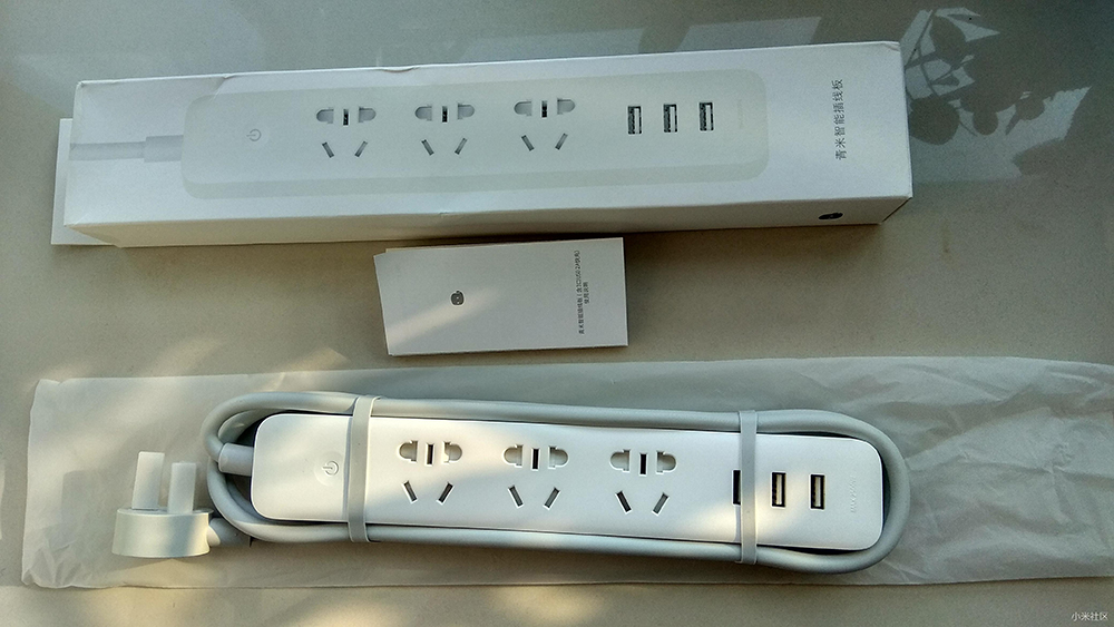 Original Xiaomi Smart Power Socket Strip Plug Adapter with 3 USB Port Smart APP Control (24)
