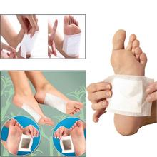 10pcs foot care Detox Foot Pads Patches with Adhesive Organic Herbal Cleansing foot treatment(China)