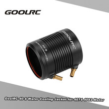 Original GoolRC Aluminum 40-S Water Cooling Jacket Cover for 4074 4082 RC Boat Brushless Motor