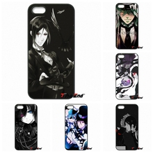 The Black Butler kuroshitsuji Sebastian Phone Case For Xiaomi Redmi Note 2 3 3S 4 Pro Mi3 Mi4i Mi4C Mi5S MAX iPod Touch 4 5 6(China)