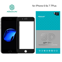 Nillkin AP+ Pro Full Cover Tempered Glass Screen Protector for iPhone 6 6s Plus 7 7 Plus 9H Hard Full Screen 3D Touch Glass(China)