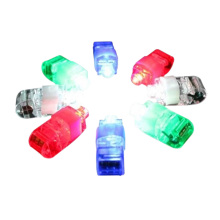 8 Pieces LED Laser Finger Ring Lights Beam Torch Party @Z177
