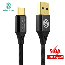 Nillkin USB Type C Cable USB C OPPO Flash Charge Mobile Phone Cable 5A 40W Fast Charging Type C Cable USB Type-C Devices