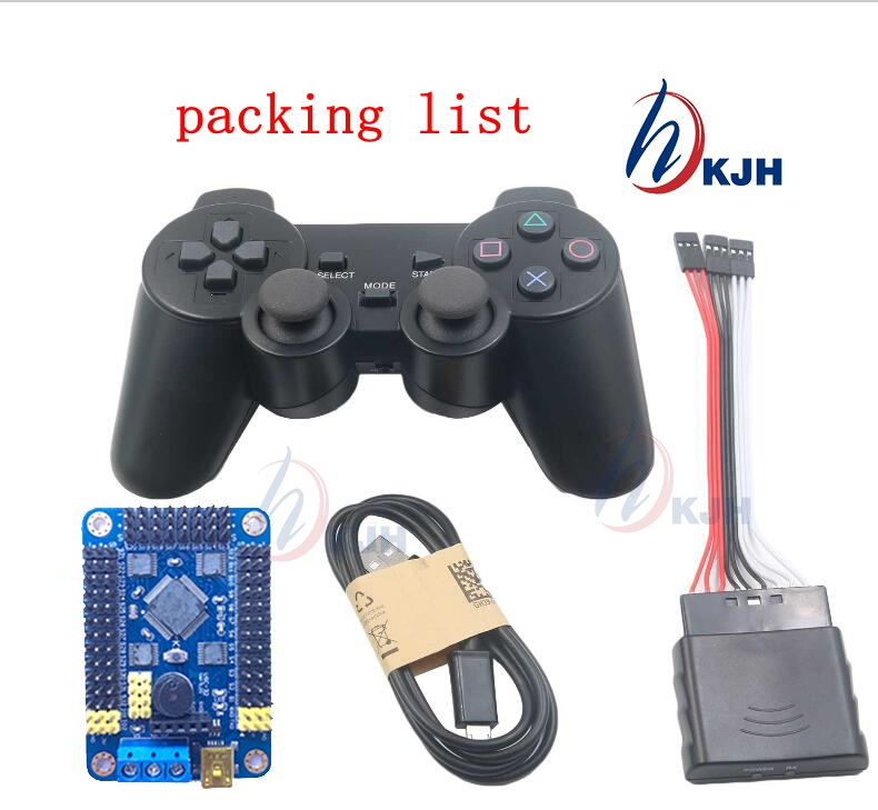32 Channel Servo Control Board &amp; Robot PS2 Controller &amp; Receiver Handle for Arduino Robot DIY Platform<br><br>Aliexpress
