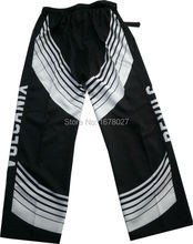 Customized quick dry fabric ice hockey pants(China)