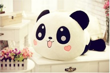 N-baby 35cm Panda doll pillow panda plush toy peluche panda toy hug bear stuffed animal doll valentine girl birghday gift(China)
