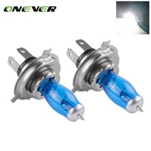 2pcs H4 9003 HB2 100W 12V HOD Xenon White 6000k Halogen Car Head Light Globes Bulbs Lamp H4 HOD Xenon Light