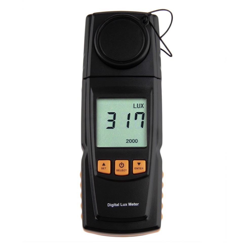 Benetech GM1020 digital lux meter 4 drivers Photometer 0.00~200000 Lux with backlight LCD<br><br>Aliexpress
