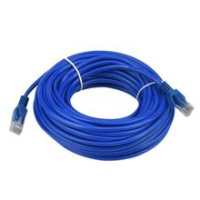 High Flexibility 18M Blue Ethernet Internet LAN CAT5e Network Cable Adapter for Computer Modem Router Oct16(China)