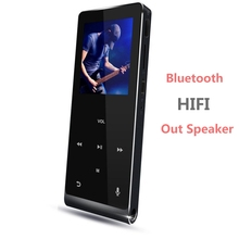 Portable Music Player 8GB Touch Screen Bluetooth MP3 Player Built-in Speaker Hi-Fi Sound Audio Player Expandable Up to 128GB(China)