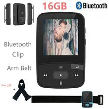 Original RUIZU X50 Mini Sport Clip Bluetooth mp3 player music player Support TF Card, FM Radio, Recording, E-book,Pedometer