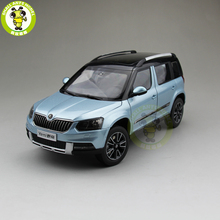 1/18 VW Volkswagen Skoda Yeti SUV Diecast Metal SUV CAR MODEL gift hobby collection Blue