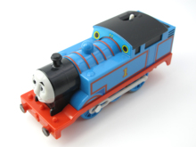 Electric Thomas Train T130E THOMAS Thomas And Friends Trackmaster Magnetic Tomas Truck Locomotive Engine Railway Toys for Boys(China)