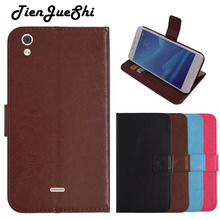 TienJueShi Flip PU Book-Style Leather Cover Shell Wallet Etui Skin Protection Case For SFR Starxtrem 5 6 Star Staraddict 5 6 7