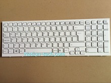 Genuine NEW UK Keyboard For Sony Vaio VPCEB VPC-EB Series Laptop Accessories Replacement Teclado White Wholesale