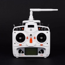 Walkera DEVO 10 10 CH DSSS Transmitter RC Radio White 2.4Ghz 10 Channels Far Range Control Telemetry with 10 CH Receiver