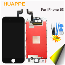 HUAPPE High Quality No Dead Pixel Display For iPhone 6S LCD Touch Screen Replacement With 3D Touch Digitizer 4.7inch White Black(China)