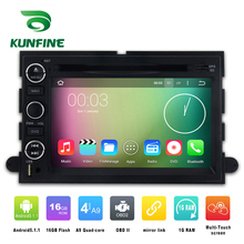 Quad Core 1024*600 Android 5.1 Car DVD GPS Navigation Player Car Stereo for Ford Expedition 2007-2010 Radio 3G WIFI Bluetooth