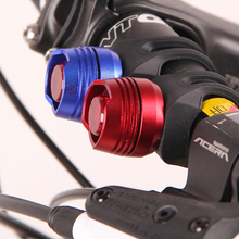 1PCS LED Waterproof Bike Bicycle Cycling Front Rear Tail Helmet Red Flash Lights Safety Warning Lamp Cycling Safety Caution Red
