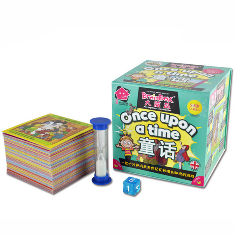 Broin Box:Once Upon A Time Board Game 55 Pieces Cards Game English Edition For Children Learning High Quality Cards(China (Mainland))
