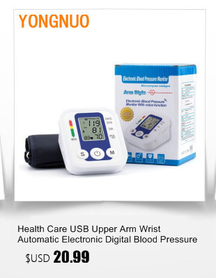 Portable Blood Pressure Monitor Health Care Pulse Meter Automatic Digital Sphygmomanometer Household Tonometer Medical Shipping 5