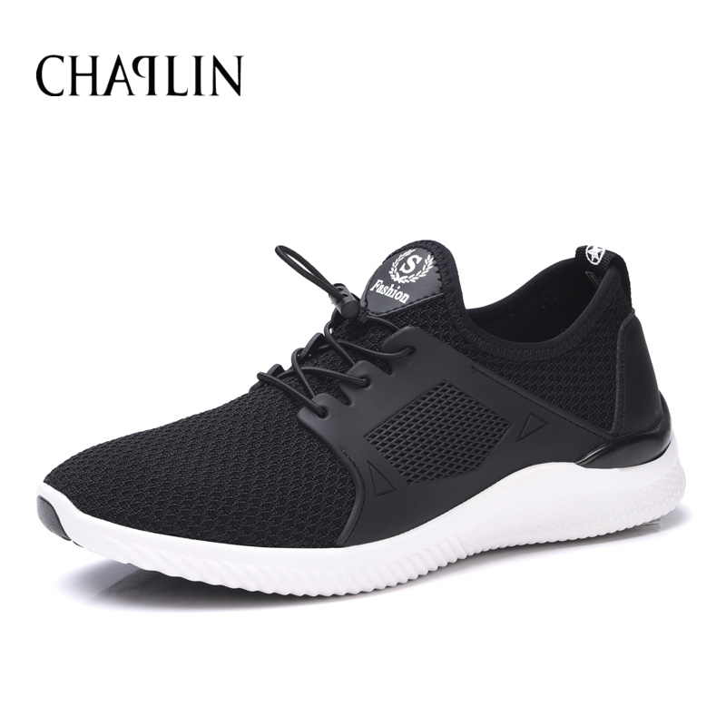 Men Hot Casual Zapatillas Deportivas Breathable Shoes Solid Lace-up Spring Summer Comfortable Daily Soft Walking Footwear 8019<br><br>Aliexpress