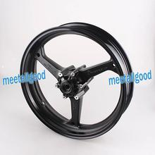 Motorcyle Alloy Front Wheel Rims For Honda CBR600RR 2007 2008 2009 2010 2011 2012 CBR 600 RR Rims Matt Black