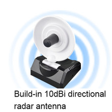 WU770N USB High Power WiFi Wireless Adapter 150Mbps Radar High Gain w/Antenna USB Wireless Signal Receiver/Emitter