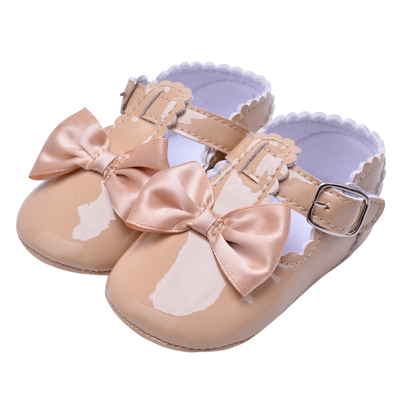 Flower Spring / Autumn Infant Baby Shoes Moccasins Newborn Girls Booties for Newborn 3 Color Available 0-18 Months 30