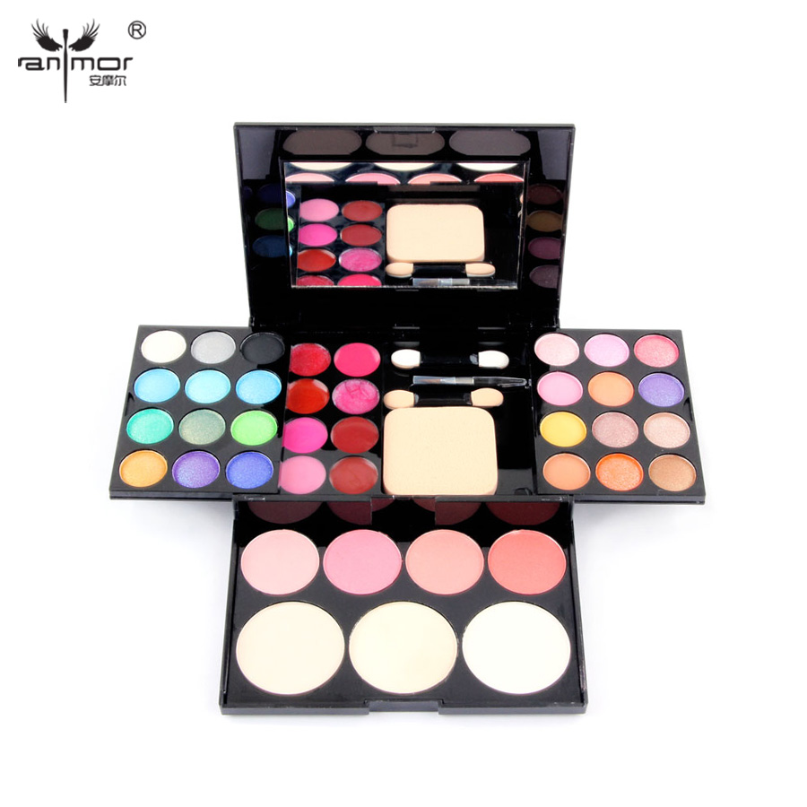 New Makeup  Palette 39 Colors Eyeshadow With Eye Primer Luminous Eye shadow Palette Band Makeup cosmetics<br><br>Aliexpress