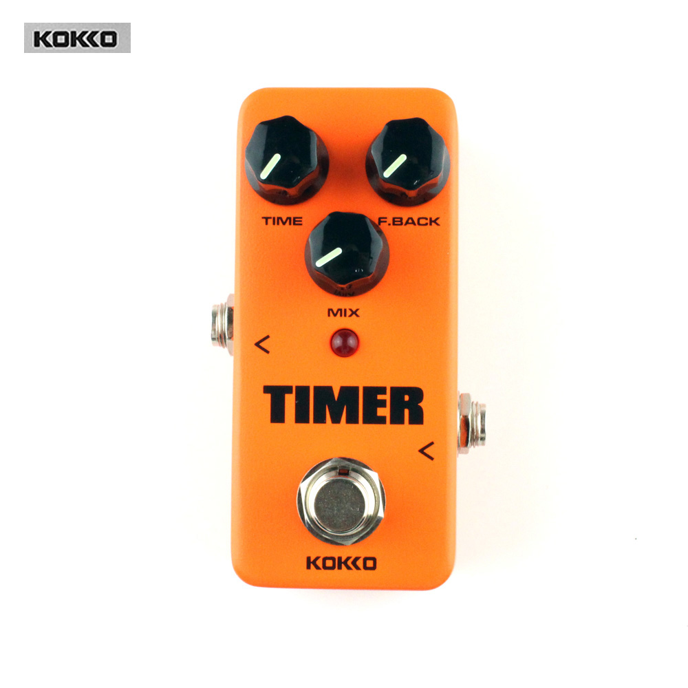 KOKKO FDD2 Timer Delay Guitar Pedal de Alta Calidad Portatil Guitar Parts &amp; Accessories <br>