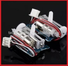 2 pieces/pair GS-1502 linear micro servo for ultra-micro aircraft/ 1.5g/ 80g-cm/ 0.12sec