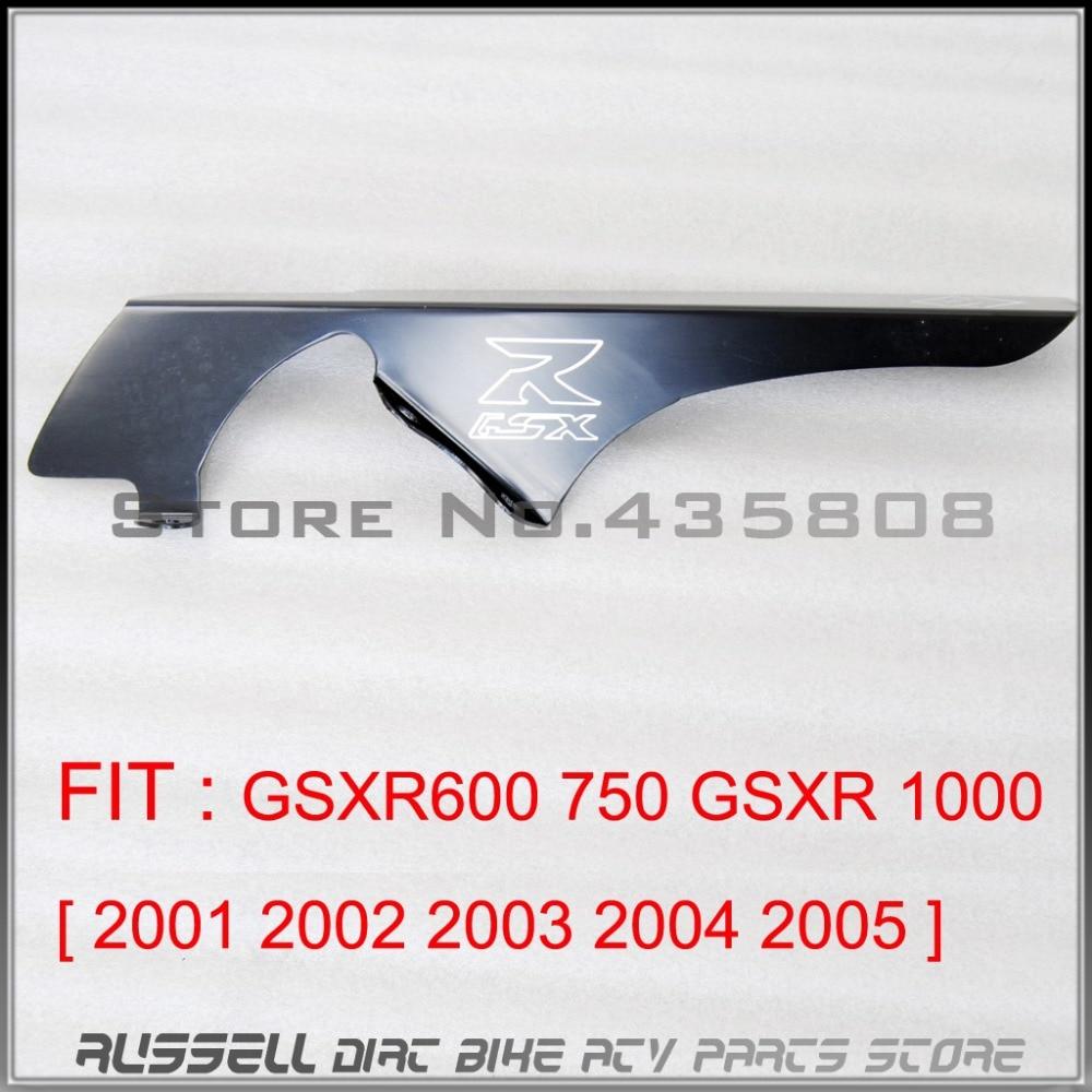 Black Chain Guards Cover For Suzuki GSXR600 / 750 GSXR1000 2001 2002 2003 2004 2005<br><br>Aliexpress