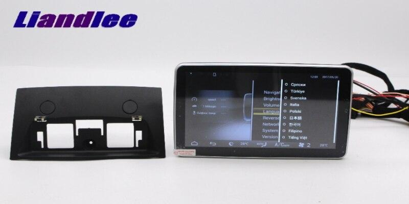 Liandlee Car Multimedia Player NAVI For Mercedes-Benz MB ML GLE M Class W166 2011~ 2017 Car Radio Stereo GPS Navigation 14