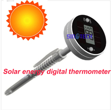 Free shipping pen type solar energy digital thermometer Foodstuff thermometer  WT-5