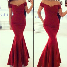 abiye 2017 Red Prom Gown Women back corss Vestidos de Renda Maxi Dress Formal Fishtail Mermaid Elegant Long Party Evening Dress